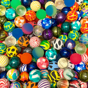 "250 Premium Quality 27mm 1"" Super Bounce Bouncy Balls - Wholesale Vending Products"