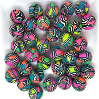 "100 Color Block Bouncy Balls - 27mm (1"") - Wholesale Vending Products"