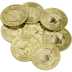144 I Was Caught Being Good Coins - Wholesale Vending Products