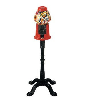 King Carousel Gumball Vending Machine w/ Stand