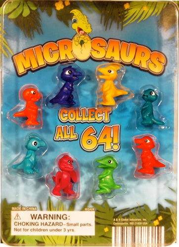 "250 Microsaurs Dinosaurs In 1"" Capsules - Wholesale Vending Products"