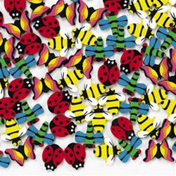 144 Mini insect Erasers - Wholesale Vending Products