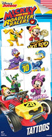 300 Mickey Mouse Roadster Tattoos In Folders - FREE DISPLAY! - Wholesale Vending Products