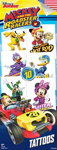300 Mickey Mouse Roadster Tattoos In Folders - FREE DISPLAY!