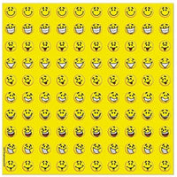 800 Mini Smile Stickers - Wholesale Vending Products