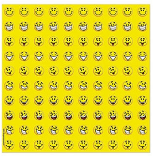 800 Mini Smile Stickers
