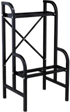 Medium Black Vending Rack Mounts 2 Large & 3 Small Vendors or 6 Small Vendors