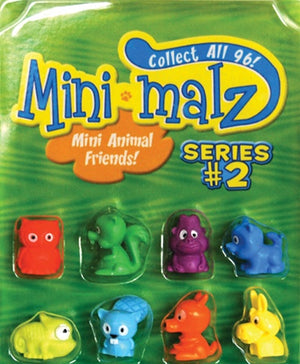 "250 Mini Malz Series 2 Pencil Toppers In 1"" Capsules - Wholesale Vending Products"