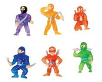 24 Ninja Figures - Wholesale Vending Products