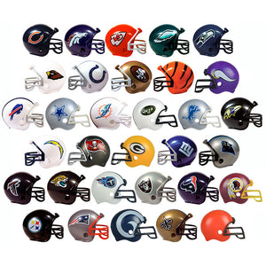 32 NFL Football Helmets