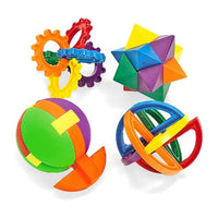 12 - Plastic Puzzle Balls With Instructions - Wholesale Vending Products