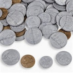 144 Realistic Plastic Play Coins - Wholesale Vending Products