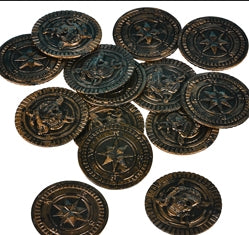 144 Pirate Coins - Wholesale Vending Products