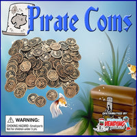 "250 Pirate Coins - 2"" - Wholesale Vending Products"