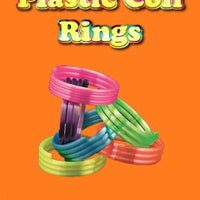 "250 Plastic Coil Rings - 1"" - Wholesale Vending Products"