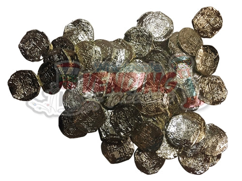 72 Pirate Doubloons - Wholesale Vending Products