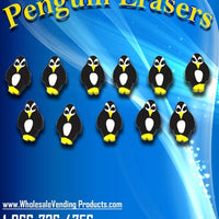 "250 Penguin Erasers - 1"" - Wholesale Vending Products"