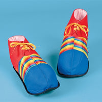 Polyester Jumbo Clown Shoes - Wholesale Vending Products