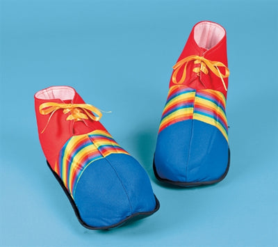 Polyester Jumbo Clown Shoes