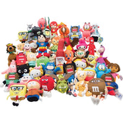 "150 PCS 6.5"" Licensed Plush Mix For Crane Machines - Wholesale Vending Products"
