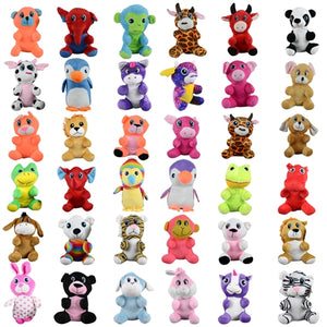 "144 PCS 7-8"" Generic Plush Mix For Crane Machines - Wholesale Vending Products"