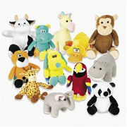 "36 PCS 11-14"" Plush Mix For Crane Machines"