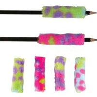 12 Plush Pencil Grips - Wholesale Vending Products