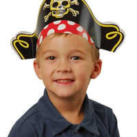 12 Paper Pirate Hats - Wholesale Vending Products