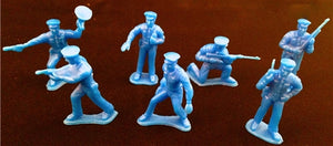 72 Mini Plastic Policemen - Wholesale Vending Products