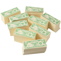 1000 Pcs Paper Play Money Set - Wholesale Vending Products