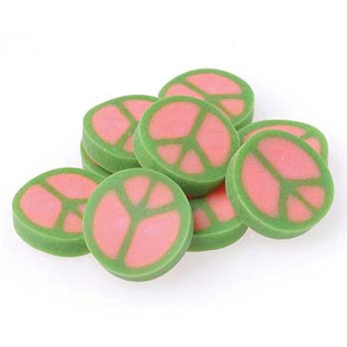 144 Peace Sign Erasers - Wholesale Vending Products