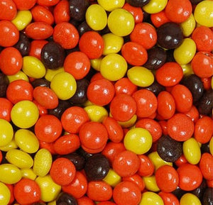 18 LBS Reeses Pieces (6) 48 OZ Bags - Wholesale Vending Products