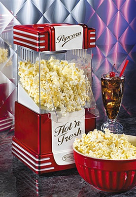 Retro Series Hot Air Popcorn Maker
