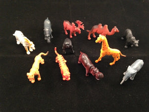 "12 2"" Safari Animals - Wholesale Vending Products"