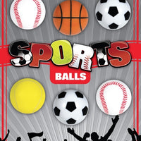 "100 Sports Ball Mix Self Vending 1"" - Wholesale Vending Products"