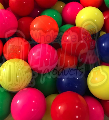 "144 - 27mm 1"" Solid Color Bouncy Balls - Wholesale Vending Products"