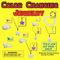 "250 Sunlight Changing Jewelry Mix - 2"" - Wholesale Vending Products"