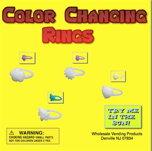 "250 Sunlight Changing Rings - 2"" - Wholesale Vending Products"