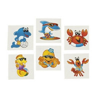 72 Sea Creature Tattoos - Wholesale Vending Products