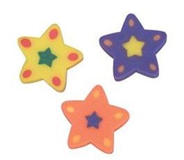 144 Star Erasers - Wholesale Vending Products