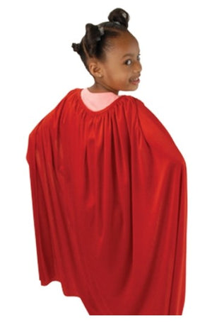 "Red Super Hero Cape 36"" Long - Wholesale Vending Products"