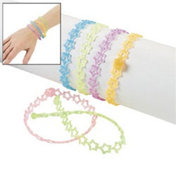 48 Star Jelly Bracelets - Wholesale Vending Products