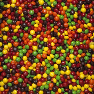 40 1/2 LBS Skittles (12) 54 OZ Bags - Wholesale Vending Products
