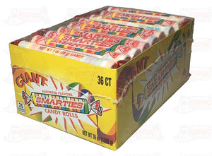 Smarties Giant Rolls - 36 Ct - Wholesale Vending Products
