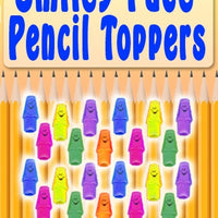 "250 Smiley Pencil Erasers - 1"" - Wholesale Vending Products"