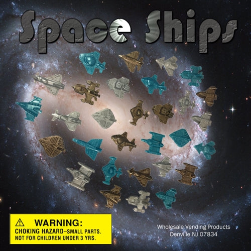 "250 Spaceships - 2"" - Wholesale Vending Products"