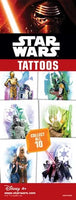 300 Starwars Classic Temporary Tattoos In Folders - FREE DISPLAY! - Wholesale Vending Products