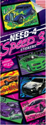 300 Need 4 Speed Stickers - Display Included