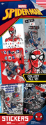 Spider-Man Stickers in Folders (300 pcs) - Display Included