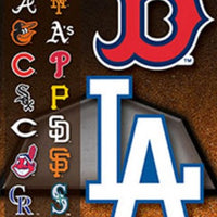 MLB Baseball Stickers Series 2 in Folders (300 pcs) - Display Included - Wholesale Vending Products